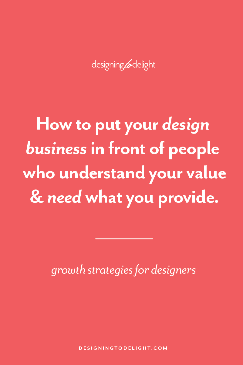 Designers and freelancers, is your business properly positioned? Or are you wishing you could finally do the work you love for people who trust you and are willing to invest in your services? Keep reading to discover how you can take the first steps to making your graphic or web design business the right choice for your best clients. Step by step -- how to get started marketing yourself through proper positioning.