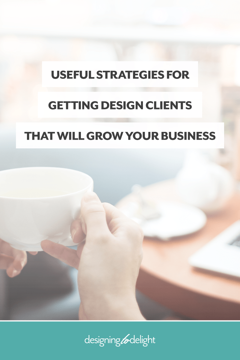 Tips for how to get new design clients when you are just starting out as a freelance designer.