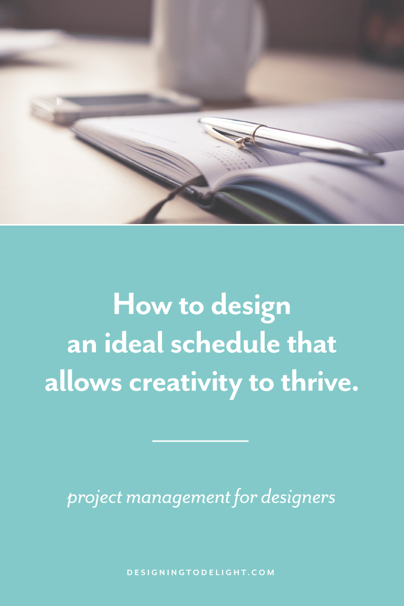 As a designer, I struggle to function under strict confines, but I recognize that my design brain needs to rest. I need to stay off the hamster wheel, so I actually enjoy this amazing freelance lifestyle. Click through to read more about how I schedule my ideal day »