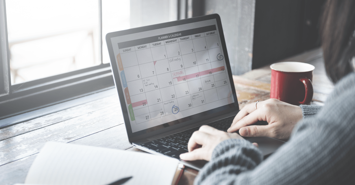 How I schedule a client web design project
