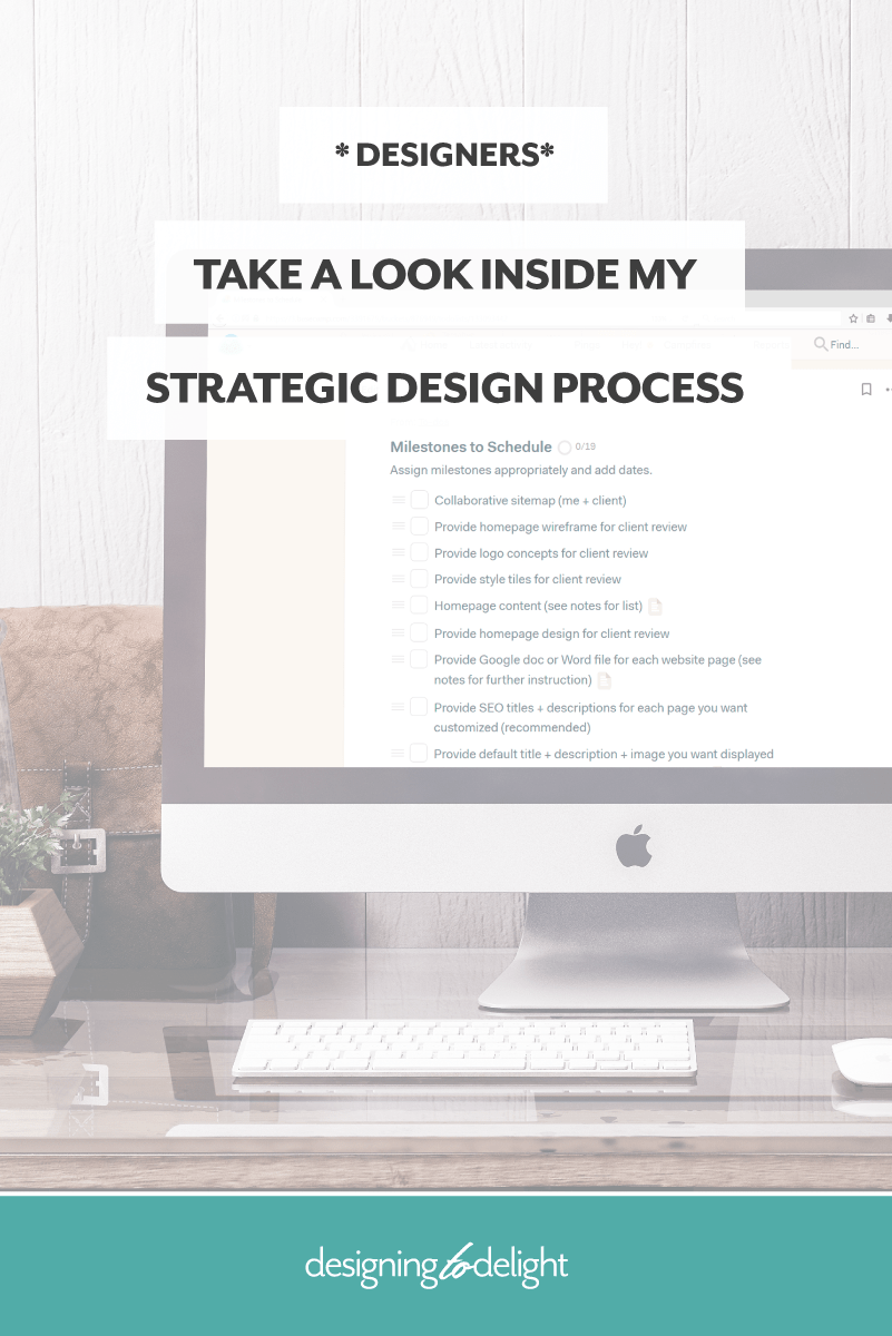 FREE DOWNLOAD! Designers and freelancers, are your design projects not going the way you planned? I've mapped out, in detail, my entire design process for you. Use it to create your own client design process. Click through to grab the design process master checklist just for freelance graphic and web designers.