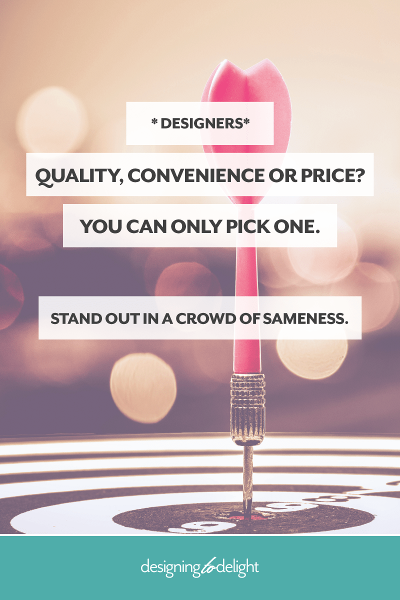 Your area of innovation is the primary method you use to differentiate yourself in your marketplace. It's the thing you are known for as a designer or freelancer… the way you stand out from others who do something similar. Click through to learn more...