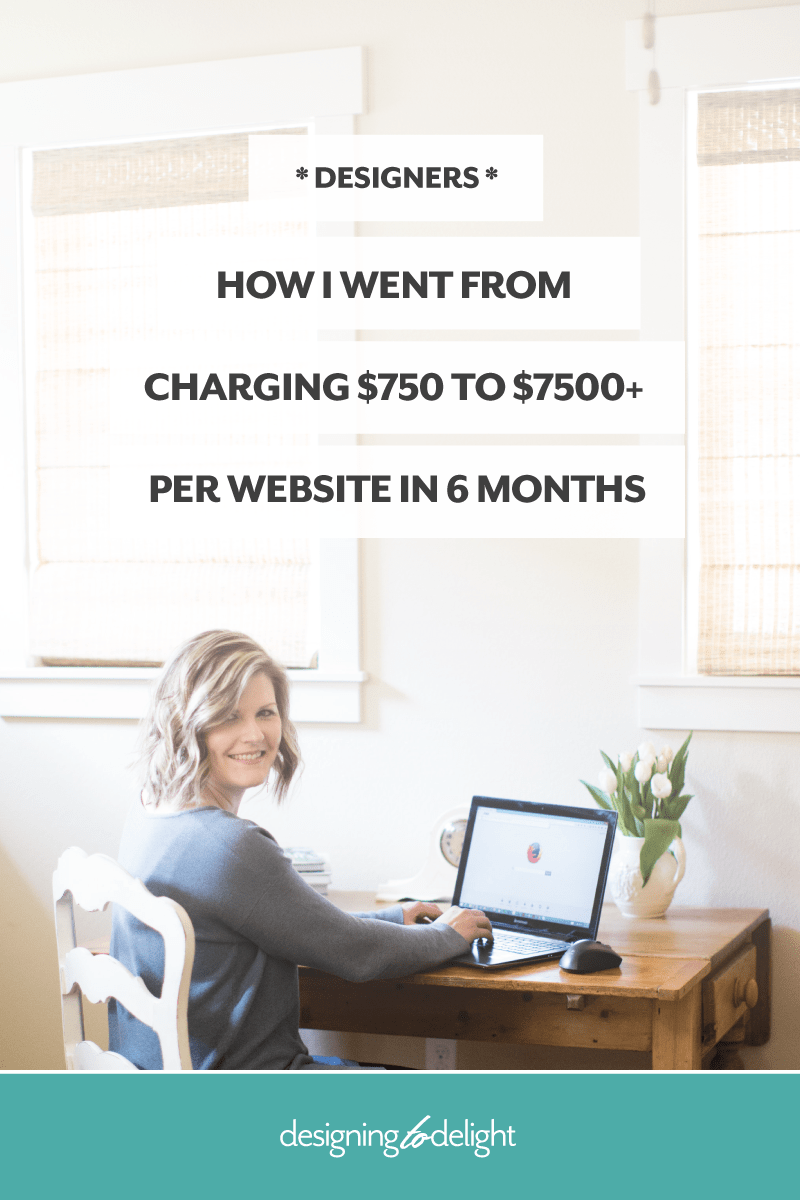 How to raise your design rates and charge what you are worth as a freelance designer.