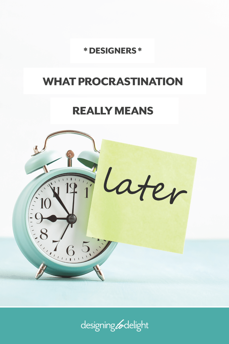 How to stop procrastinating and start taking action - take a look at the real reasons behind procrastination.